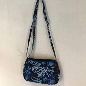 Vera Bradley Small quilted purse Crossbody Blue